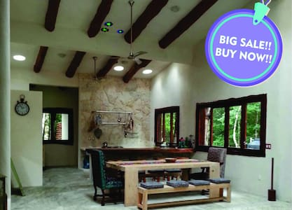 Wonderful Jungle House , M. Gomez, Tulum by KVR - Macario Gómez - Huis
