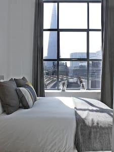 Shard View 2-Bed 2-Bath Flat London City + Wifi!! - Apartment