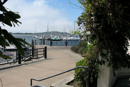 Peaceful Condo steps from SF Bay
