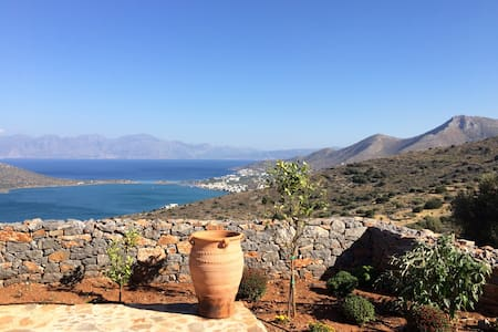 Apartment 1 with views of Elounda - Pines, Elounda - Huoneisto