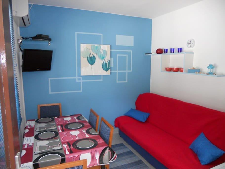 Apartsolta Blue Sea apartment Living room