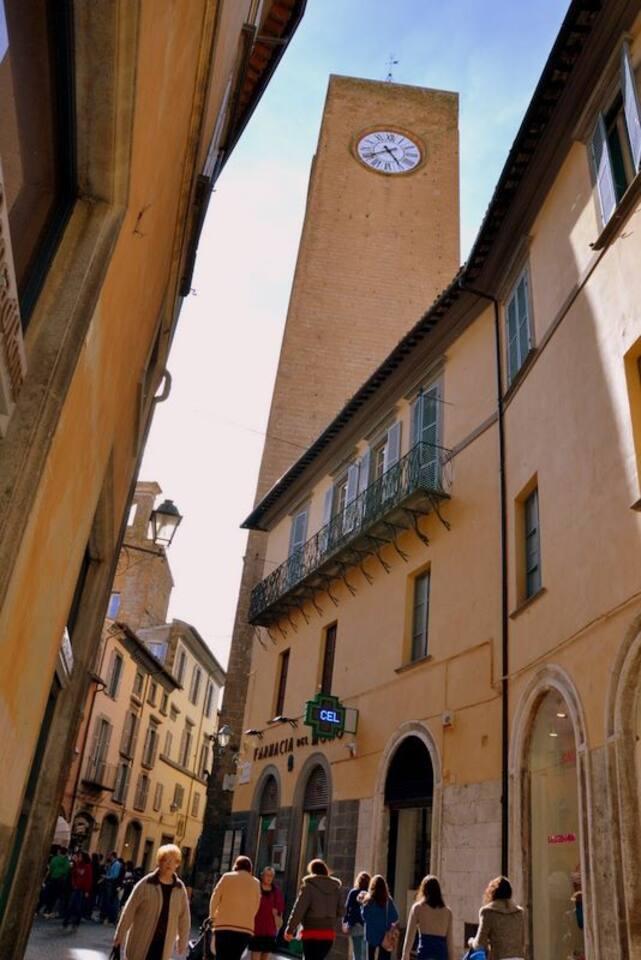 Torre del moro a 10 m dall'abitazione.