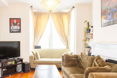 Quaint Victorian flat off Haight St - San Francisco - Apartment