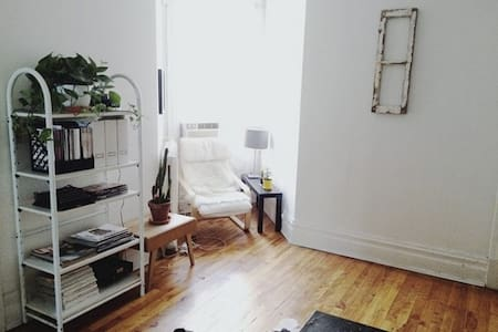 Quiet room in trendy Mile-End