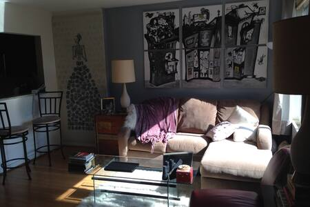 Cool Columbia Heights Studio Across from the Park - Washington - Apartment