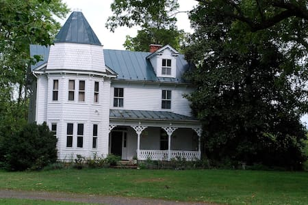 Victorian 5BR Farmhouse 1hr-DC! - Marshall - Ház