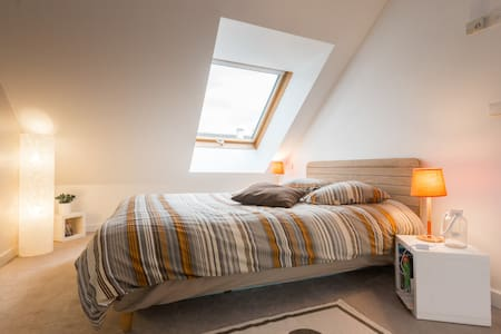 Bedroom with private bathroom - Apartament