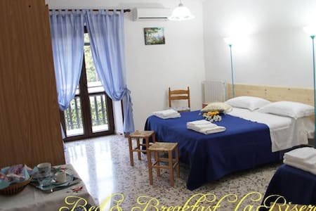 B&B La Riserva Camera Blu - Isoletta  - Bed & Breakfast