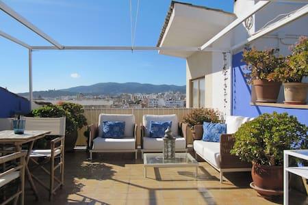 Old Town loft with terrace & views - Apartemen