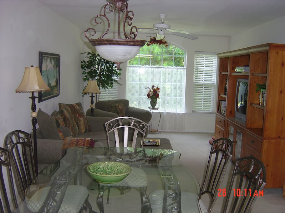 Dining Room and Living Room