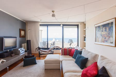 Stunning ocean view in Oporto city - Apartment