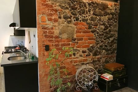 Incredible loft in colonial downtown Mexico City - Centro
