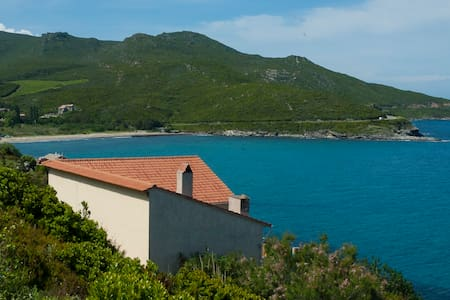 180° sur la mer et terrasse géante - Pietracorbara