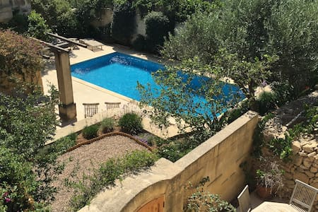 Cosy Farm House with Pool in Xewkija - Townhouse