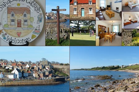 Holiday Cottage near St Andrews in East Neuk Fife - House