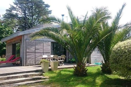 Grande et Lumineuse maison en Bois - Plogastel-Saint-Germain - House
