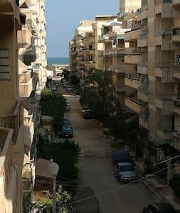 شقة فاخرة ايجار يومي شاطئ النخيل الكيلو 21 ش. 6/13 - Appartement