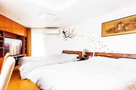 Top-Floor Modern Shibuya Residence - Lägenhet