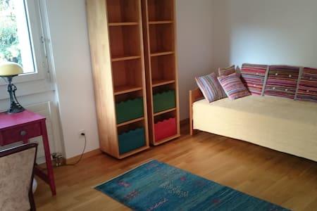 Zentral, ruhig und schöne Aussicht - Apartament