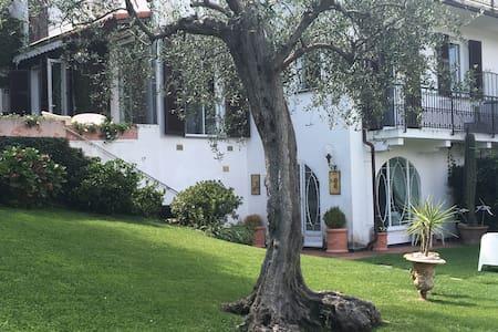 villa with pool, garden & view - rapallo - Villa