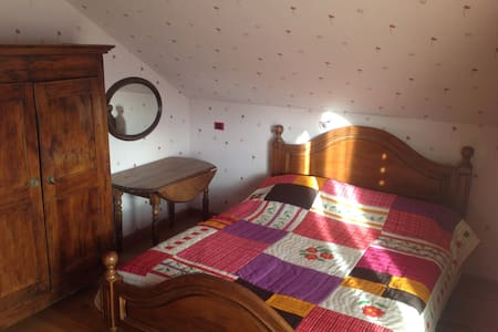 2 chambres + SDB + W.C. - Thorens-Glières - Bed & Breakfast