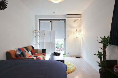 Studio in Shinjuku-Bright Lights ! Big City! Last Minute Discount: September 20% OFF! - Shibuya-ku - Lägenhet