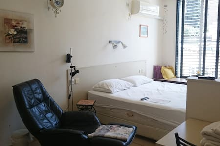 Quiet studio apt. 7 mins. from Central train Sta. - Ramat Gan