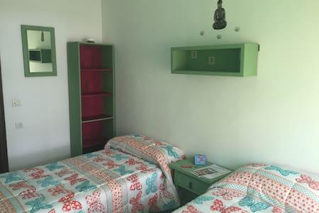Habitación verde - Cartagena