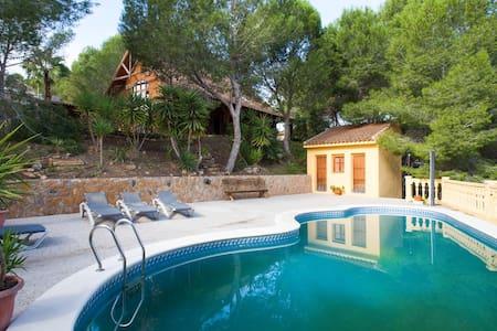 "Relax en ""Entrepinos"" chalet madera - Murcia - Haus"