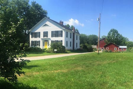 Farm Stay near Middlebury (room 2) - New Haven - Bed & Breakfast