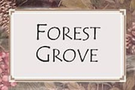 Forest Grove Room @ Blue Heron Inn - Findley Lake - 住宿加早餐