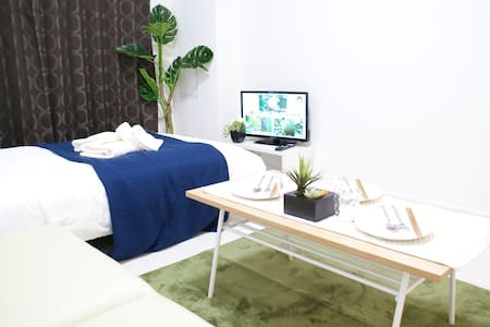 Relax Stay at Namba 3mins to Sta+Free WIFI and TV. - Apartment