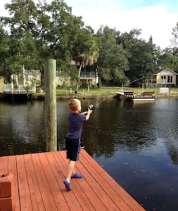 Waterfront family getaway - New Port Richey