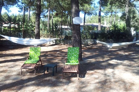 Chalet independiente con piscina - Huis