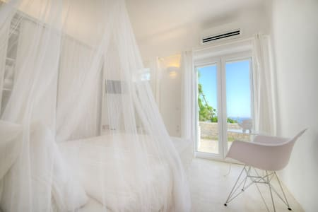 One bedroom aprt for 4, sea view, shared pool - Mykonos - Apartment
