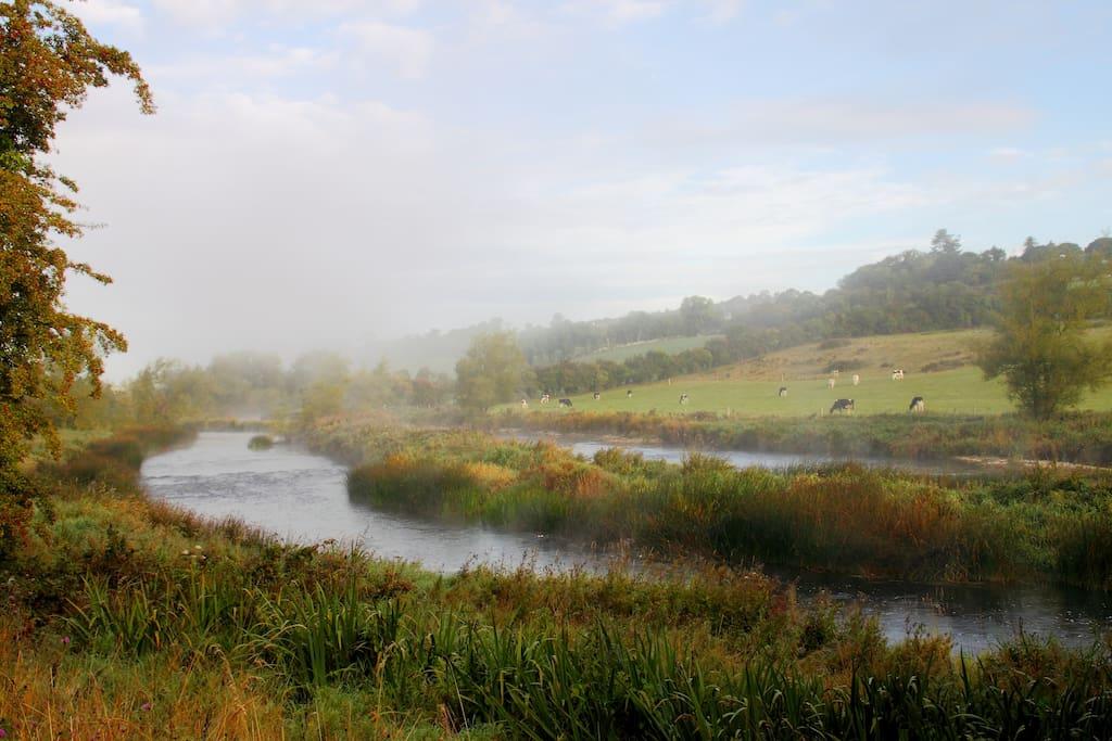 The magical, mystical Boyne river!