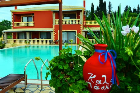 Villa SULTANA in Corfu Island - Agia Triada