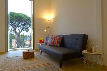 Casa sull'albero - luminosa e panoramica sul verde - Napoli
