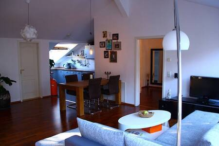Rooftop appartment with huge terrace - Berlin - Apartment