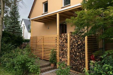Einfamilienhaus, Terasse, Domblick - Erfurt - Casa