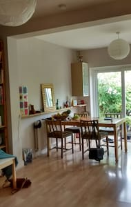 Bright room in quiet northern Ealing, west London - Perivale - Maison