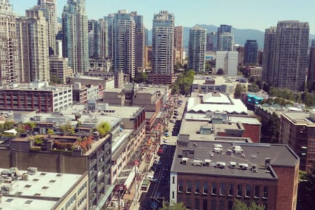 Heart of Downtown (Yaletown). Amazing City View! - Apartment