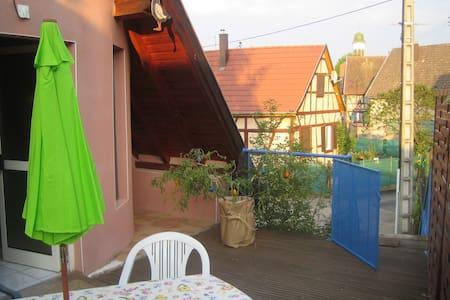 Gîte La Roselière - Hilsenheim - Flat