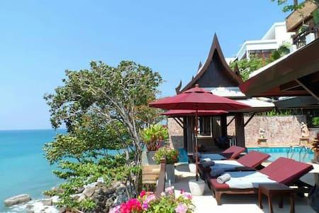 Baan lom Talay, Stunning oceanfront luxury villa - Villa