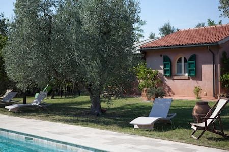 Family apartment in the countryside close to sea - Bolgheri - Appartement