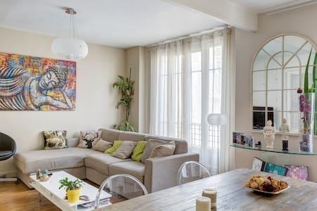 Bel appartement lumineux près de Paris (56m2) - Courbevoie - Appartement