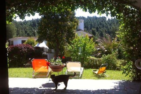 Relaxing at a mountain-sea villa - Vila