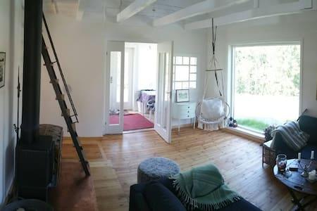 Isolated design house minutes from Saltarö beach - House