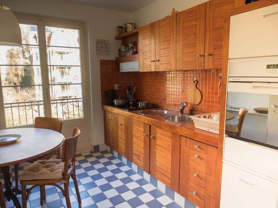 Fully-equipped kitchen with everything you need!