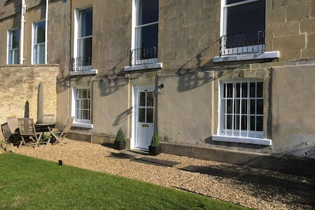 Beautiful Garden Flat Grade II Bath - Bath - Appartement